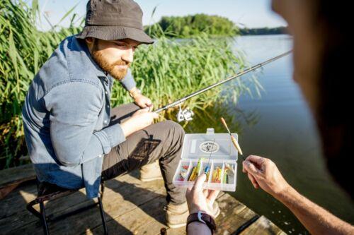 Variation Pack Fishing Lures Storage Organizer Bait Box UFISH 4 Pk Tackle Box