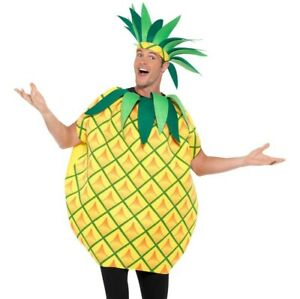 Humble Adult Ananas Fancy Dress Costume Nourriture Fruit Costume Par Smiffys-afficher Le Titre D'origine