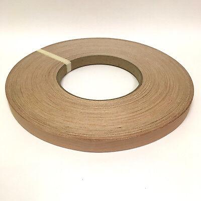 """Wood Veneer Edgebanding Edge Banding Tape Pre-Glued 7//8/"""" x 25/' Cherry"""