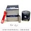 Piston Kit 1.00mm Oversize For 1996 Polaris Trail Blazer 250~WSM 50-300-07P