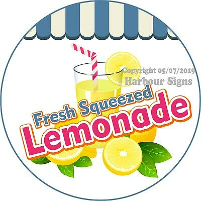 Choose Your Size Lemonade DECAL Monkey Concession Food Truck Vinyl Sticker