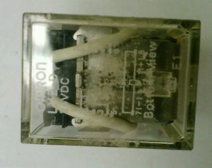 Omron Ly2 D 24vdc Diode Surge Suppression Relay Ebay