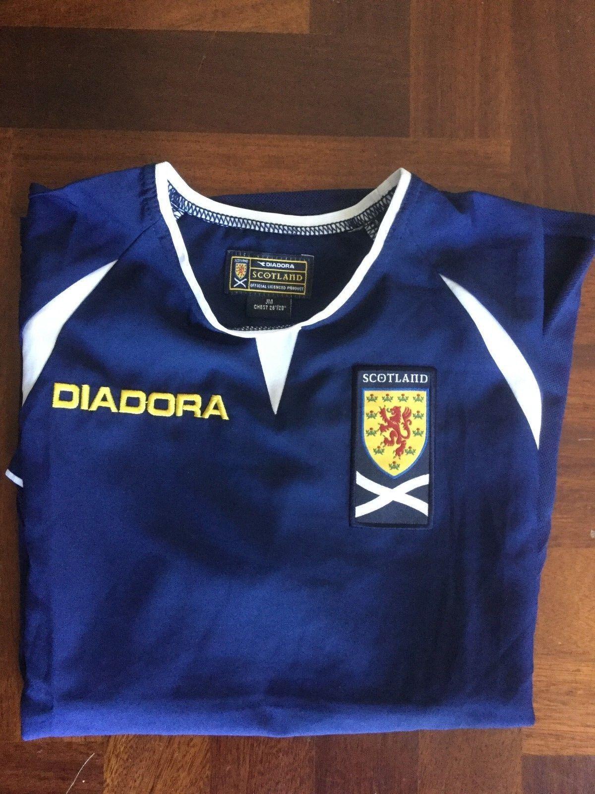 MAGLIA CALCIO DIADORA SCOTLAND 2003 football shirt trikot vintage young