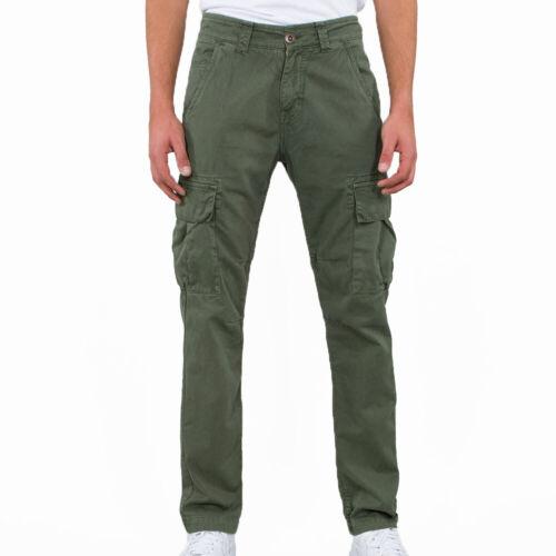 Alpha Industries Hommes Pantalon agent Pant Dark Olive