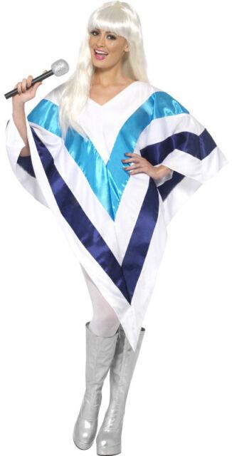 Super Trooper Poncho NEW - Ladies Carnival Fancy Dress