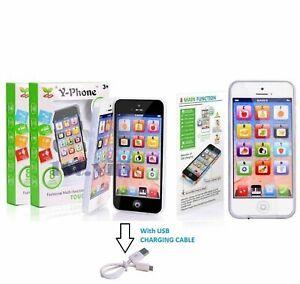 Toy Phone Smart Phone Kids Children Educational English Learning Mobile UK Free