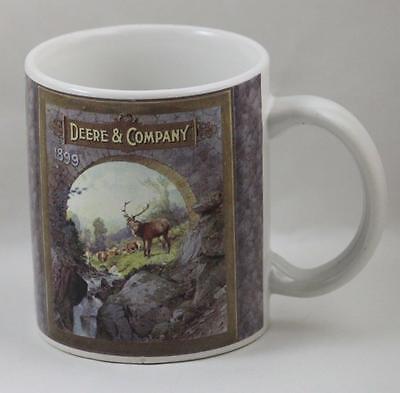 Coffee Cup Mug John Deere Company 1899 Farming Collectible