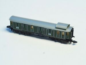 Marklin-Z-Scale-Bavarian-Passenger-baggage-Car-Old-era