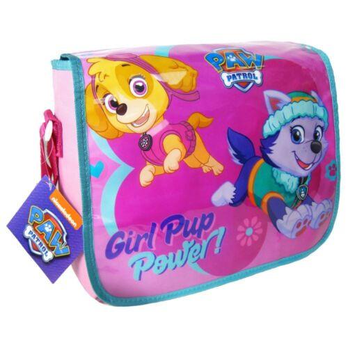 Paw PATROL SKYE Everest Rosa Messenger Tracolla Borsa Bambini Scuola Libro