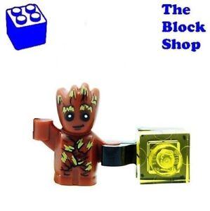 Lego® Guardins of the Galaxy Baby Groot Figur aus Set 76080 Neu