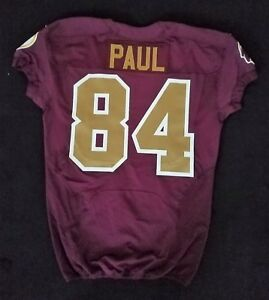 f6df72ef4 84 Niles Paul of Washington Redskins Nike Game Issued Alternate ...