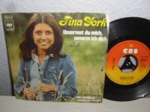 """Schallplatte 7""""/ TINA YORK UMARMST DU MICH, UMARM ICH DICH Vinyl 1975 Top - Ilsede, Deutschland - Schallplatte 7""""/ TINA YORK UMARMST DU MICH, UMARM ICH DICH Vinyl 1975 Top - Ilsede, Deutschland"""