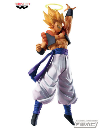 Gogeta Super Saiyan Pvc Figure Banpresto DRAGON BALL Legends Collab