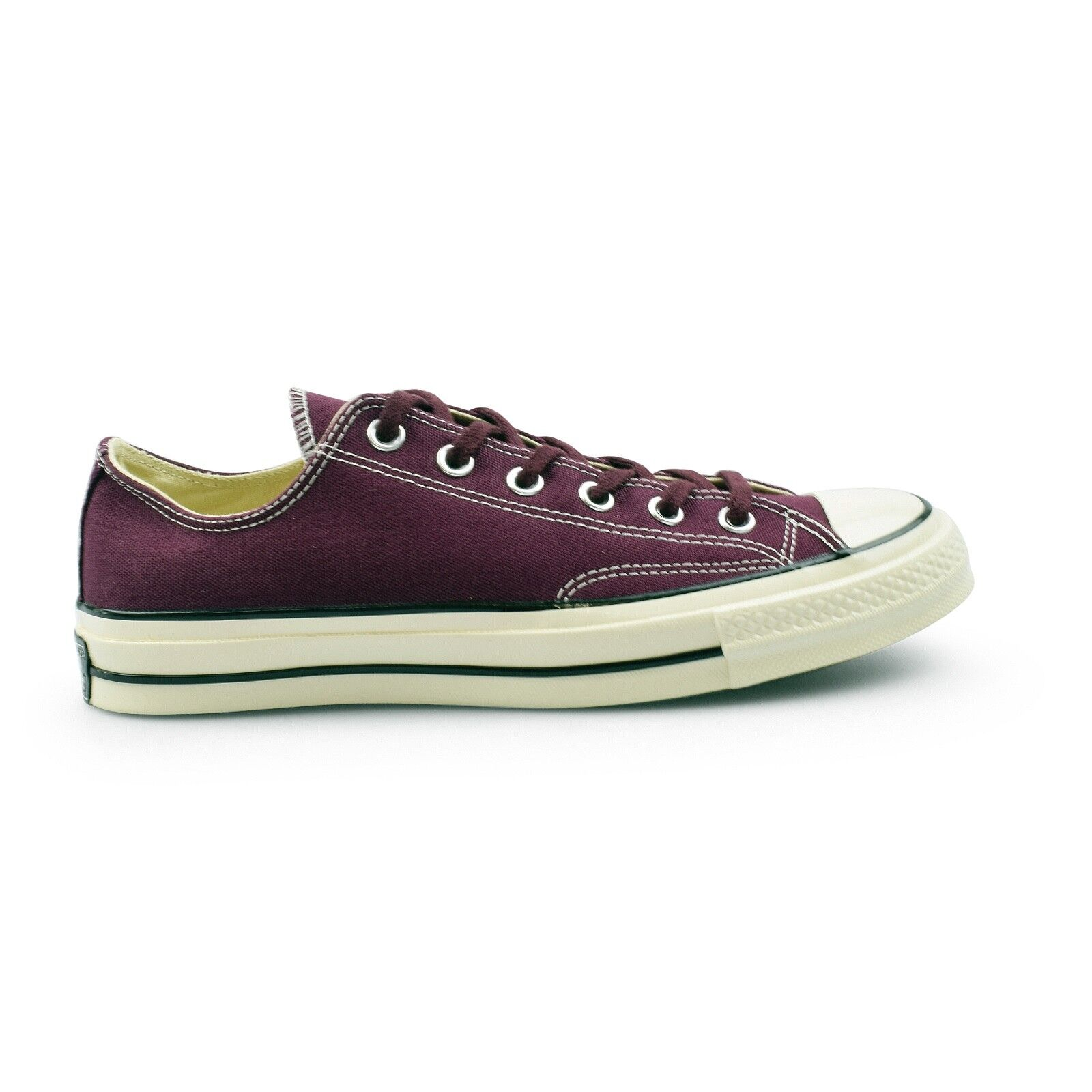 Converse Chuck Taylor All Star 70's Ox Dark Sangria Canvas Mens Trainers