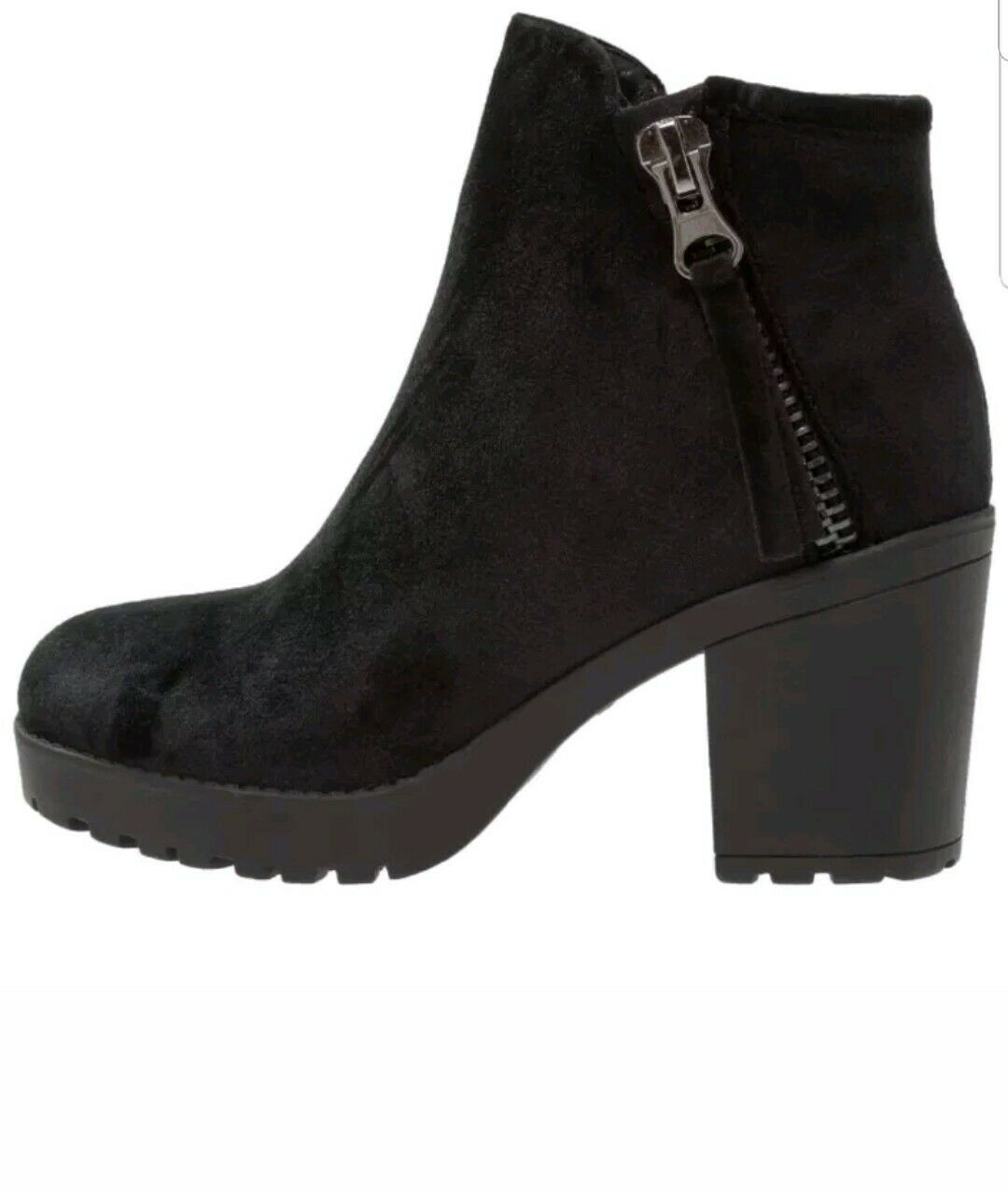 BRS CALL IT SPRING JOLLES BLACK LADIES BOOTS SIZE UK 6 39