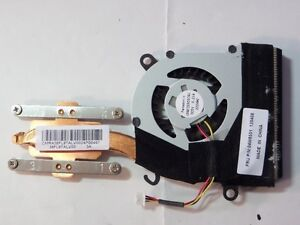 Details about LAPTOP CPU FAN/HEATSINK IBM X121E X130E 04W6551 + THERMAL  PASTE