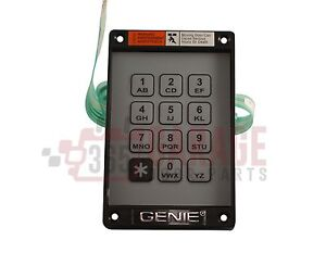Genie Garage Door Opener Keyless Entry Kep 1 Keypad And