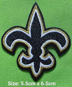 New Orleans saints 6Pcs per pack Logo Patches on~Iron on ~ Sewing on Fabrics