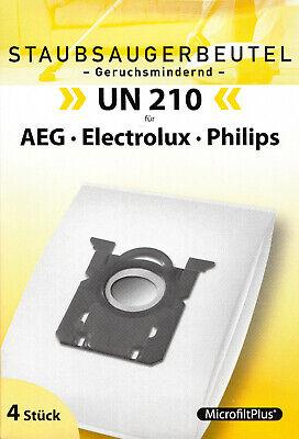 1 x 4 Staubsaugerbeutel UN 210 AEG Electrolux Philips
