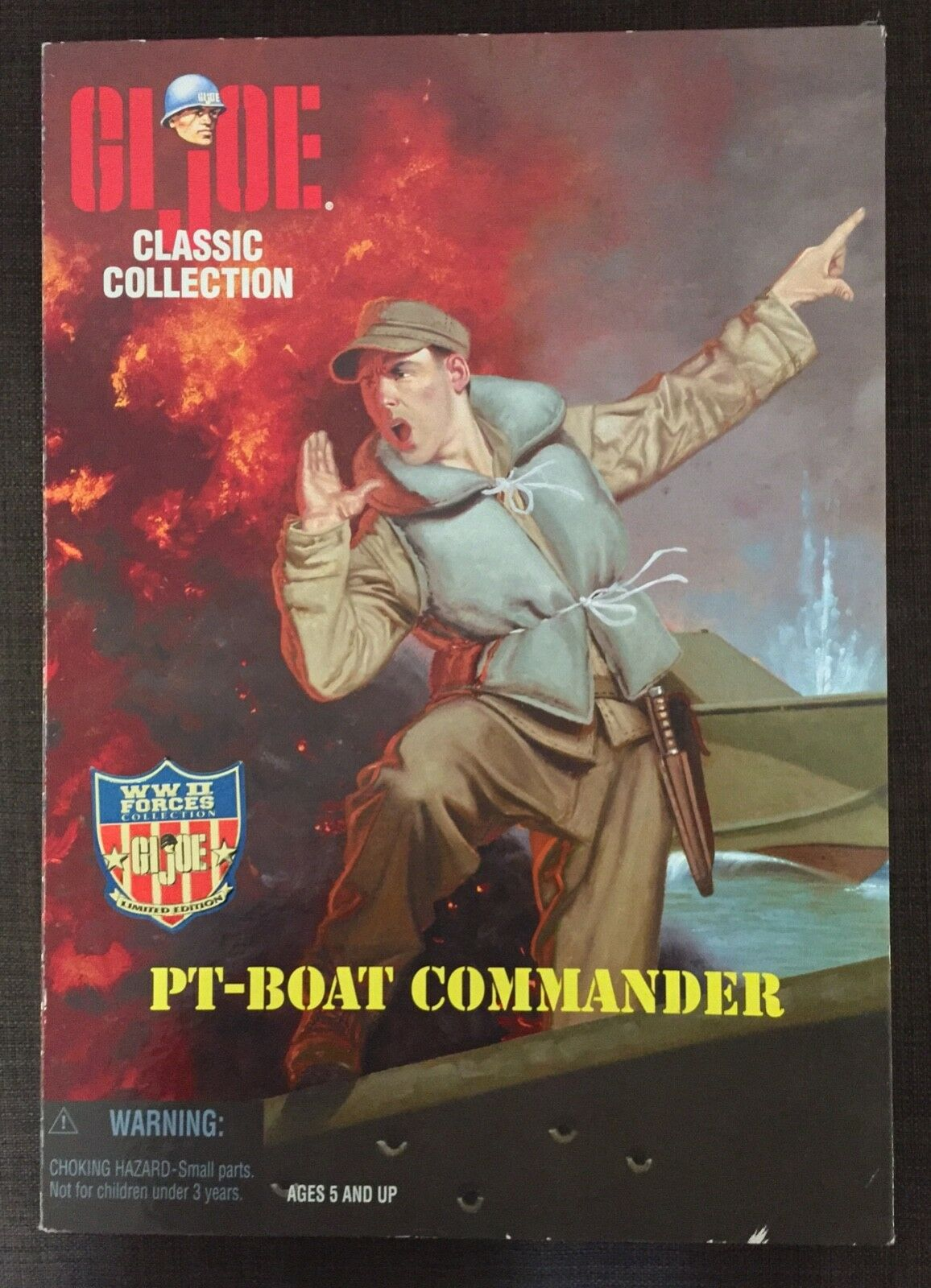 GI Joe Classic Collection PT-BOAT COMMANDER