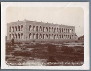 Tunisie-Tunis-Caserne-de-l-039-Ouzara-La-Goulette-Cie-11e-de-Ligne-Vintage