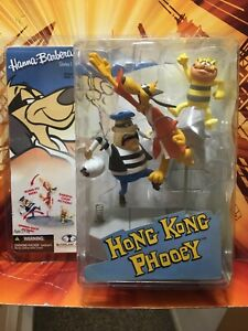 McFarlane-Toys-HONG-KONG-PHOOEY-new-Hanna-barbers-series-1-mint-on-card-2006-moc