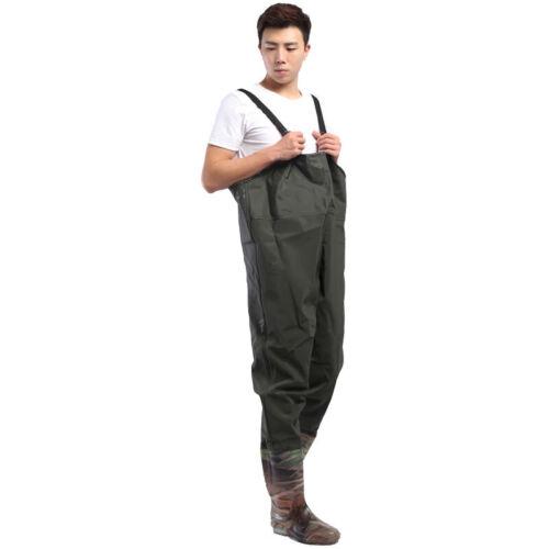 Men Women PVC Chest Wader Waterproof Pants Outdoor Fishing Waders Unisex