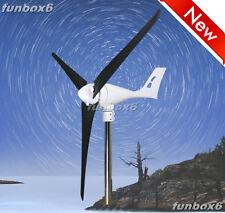 12V600W/Max 850W Wind Turbine Generator Wind Mill+Controller+carbon fiber blades