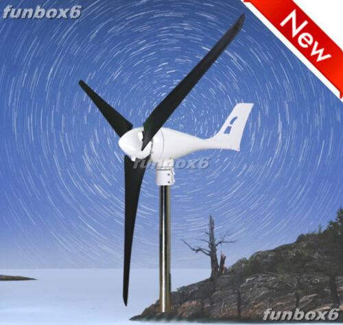 Max 850W//Rated 600W 24V Wind Turbine Generator Windmill+Controller+CFRP Blades