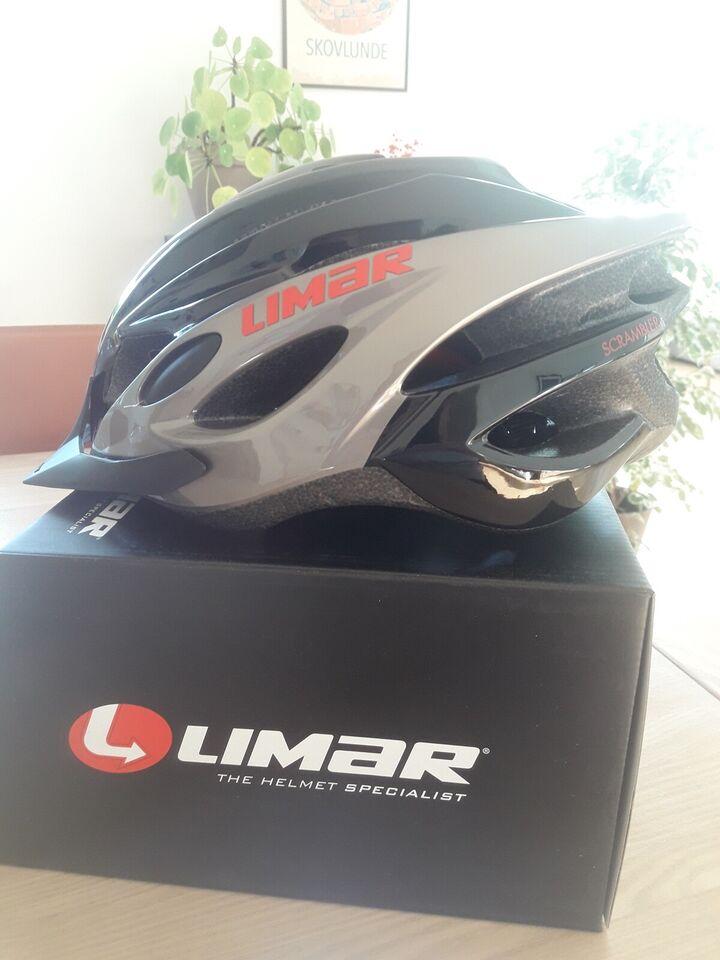 Cykelhjelm, Ny Limar Scrambler Medium 52-57 cm