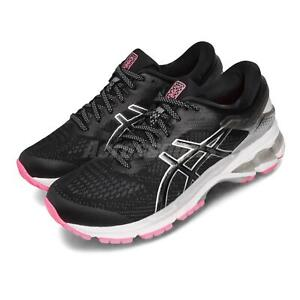 Details about Asics Gel-Kayano 26 Lite-Show Black Grey Pink Women Running  Shoes 1012A589-001