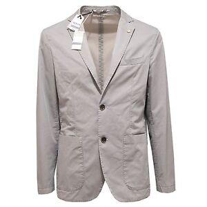 Uomo At Jacket Men Giacca Beigeblu co Cotone Ebay 2281o p Z5EwanAFqx