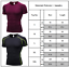 Men-039-s-Short-Sleeve-Gym-Sport-T-Shirt-Fitness-Workout-Compression-Tops-Activewear thumbnail 2