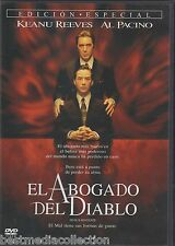 SEALED Devil's Advocate DVD El Abogado Del Diablo AL PACINO Region 4 BRAND NEW