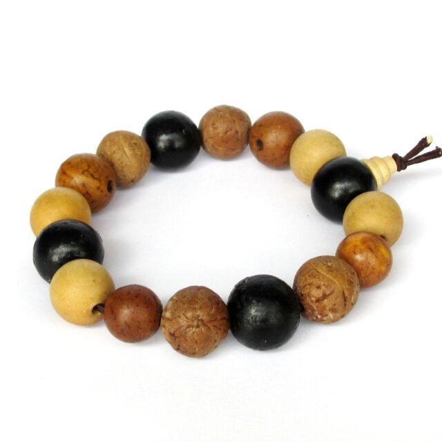 Bodhi Seed Beads Tibet Buddhist Prayer Bracelet Mala