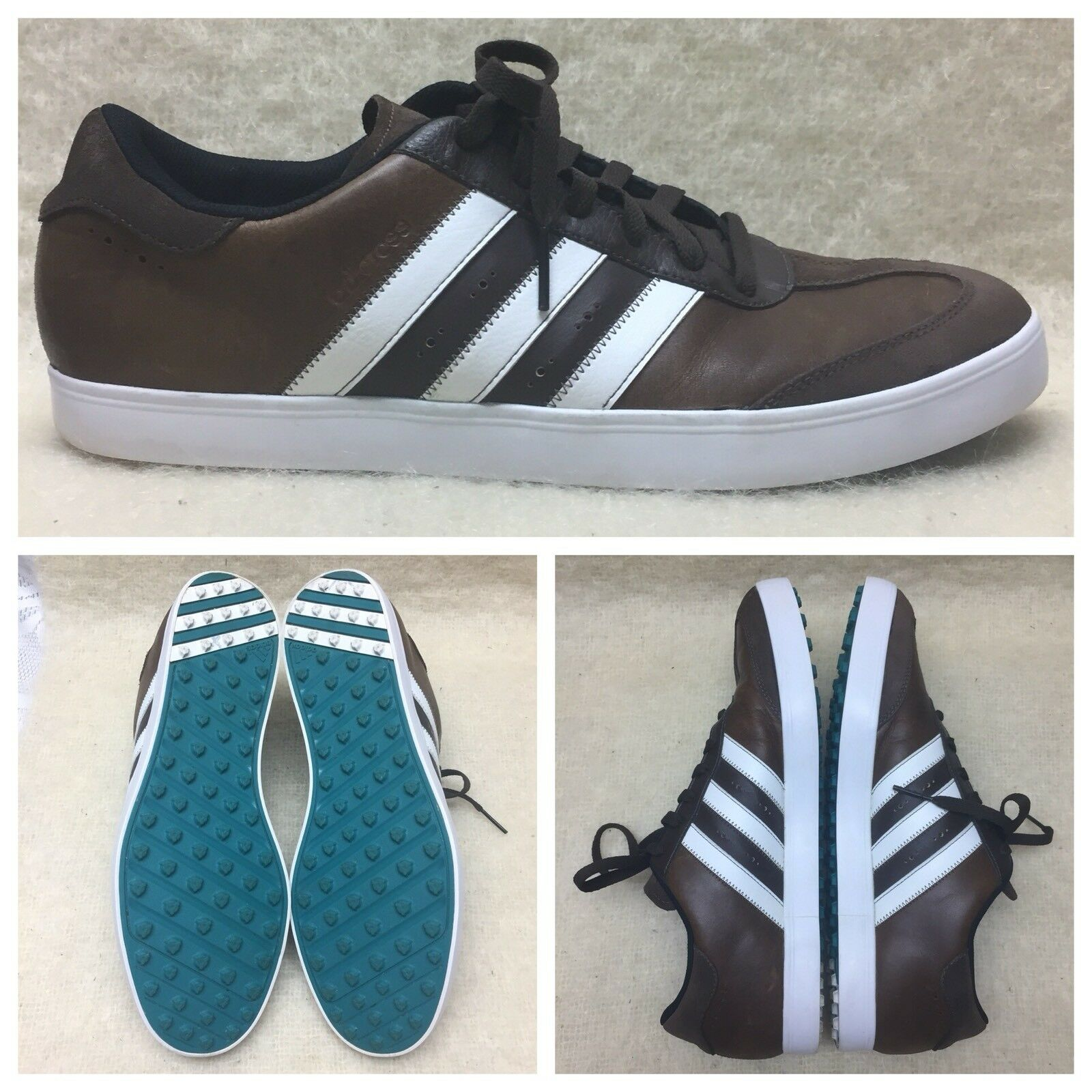 Adidas marrone scamosciato & leather leather leather strisce multi sport scarpe evn 791001 Uomo numero 13 ba1e4d