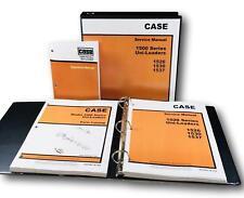 Case 1500 1526 1530 1537 Uni Loader Skid Steer Service Parts Operators Manual