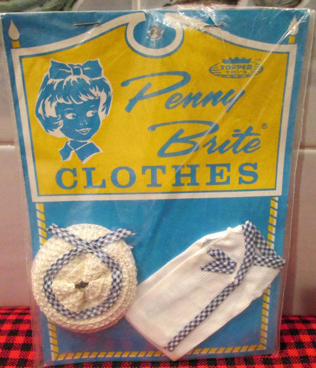 Nuevo 1963   Penny Brite   Nuevo en paquete    mejor domingo  como nuevo  3 PC. Set Japón   Brite + crujiente
