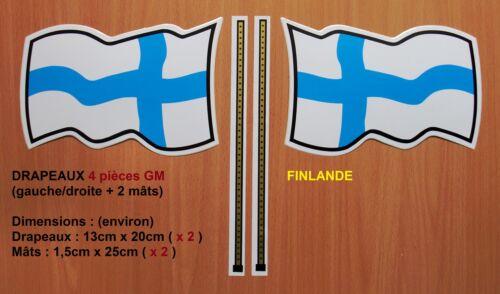 sticker auto moto camion décoration Autocollant Multi Finlande