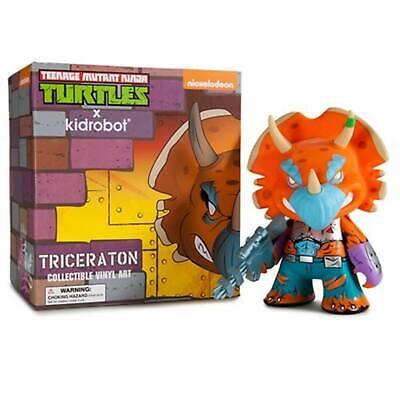 Kidrobot Teenage Mutant Ninja Turtles Shredder Triceraton Collectible Vinyl Art