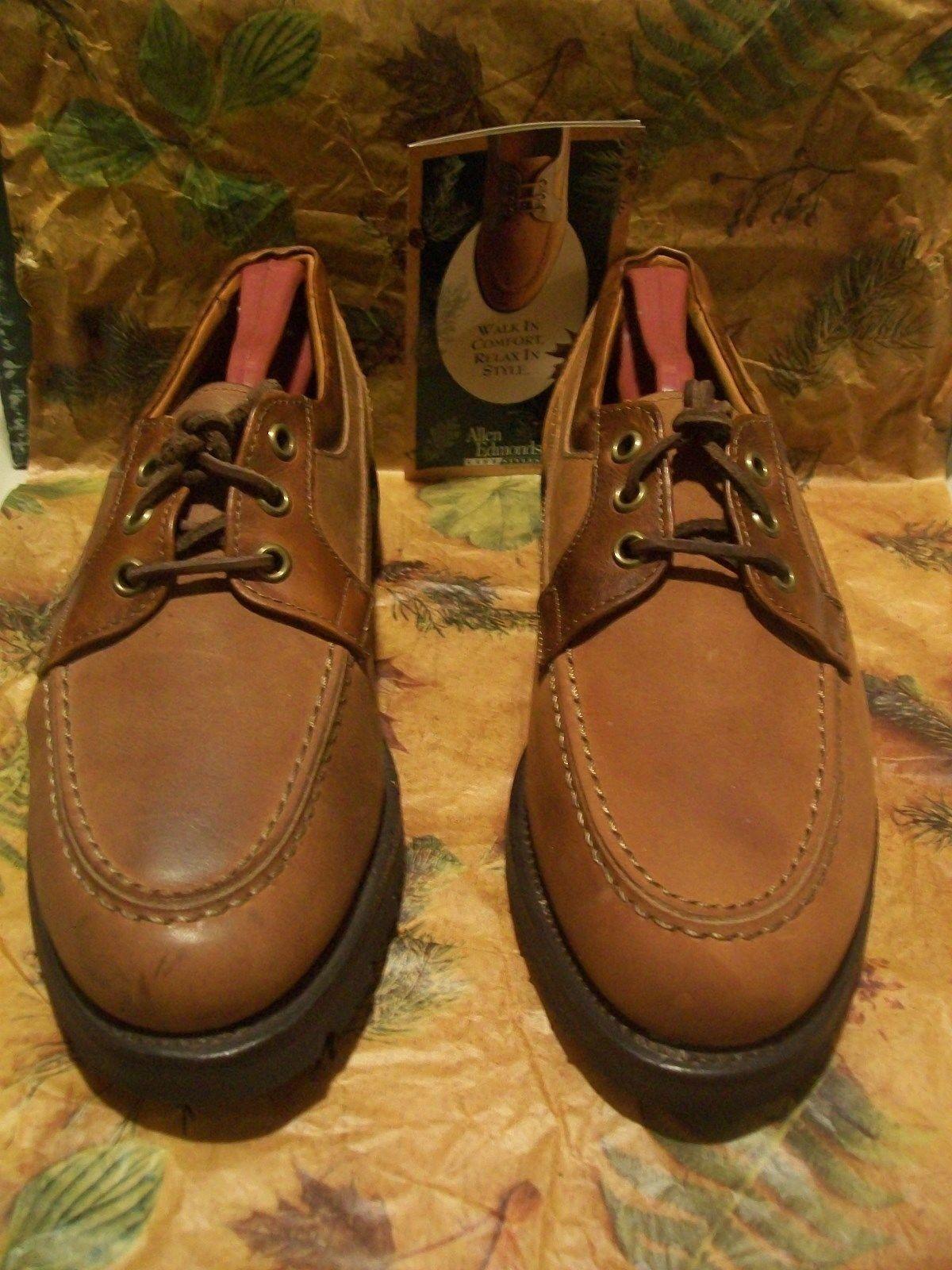 New 1st Quality Allen Edmonds Roanoke 7 D brown