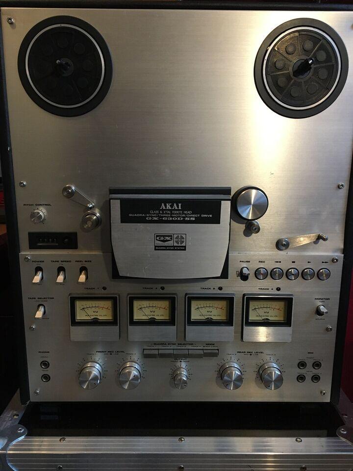 Spolebåndoptager, Akai, GX-630D-SS