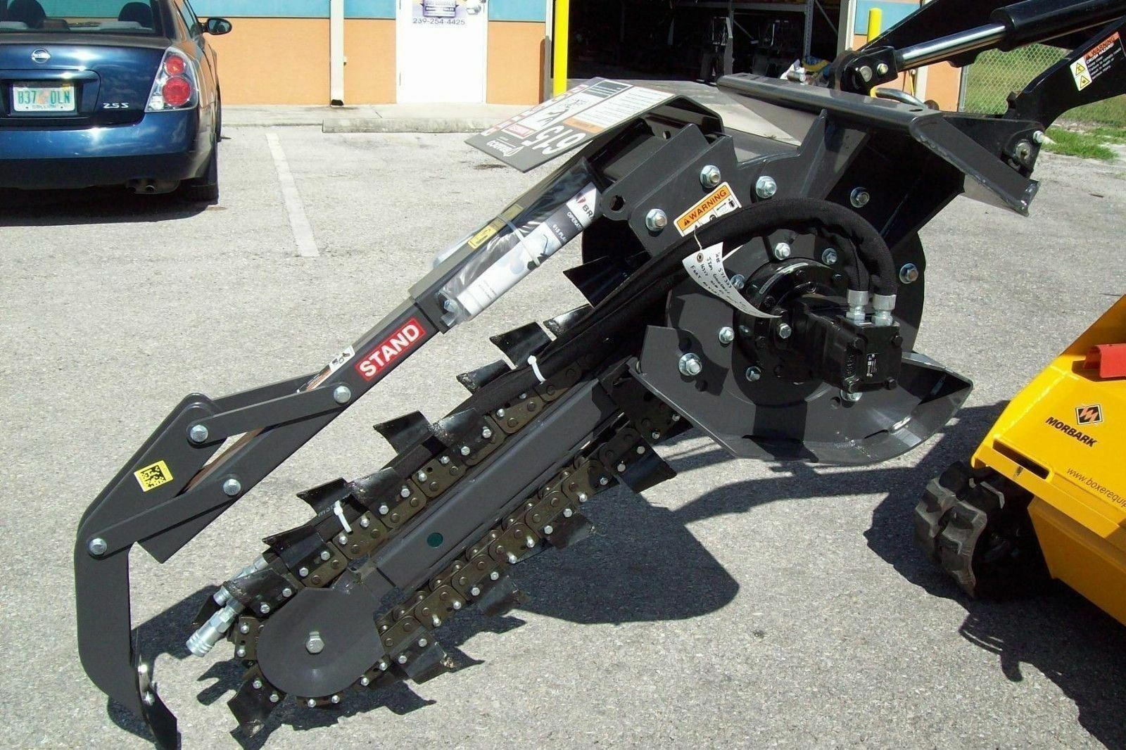 "Bradco 615 Trencher for Mini Skid Steer Loaders,36/""x6/"" Wide,Fits Toro,DitchWitch"