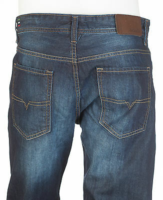 DIESEL Mens Regular Straight Denim Jeans WAYKEE Embroidered INDIGO 30-40 $198