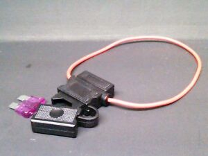 diy fuse holder 3a for turn signal kit in line sxs utv atv. Black Bedroom Furniture Sets. Home Design Ideas