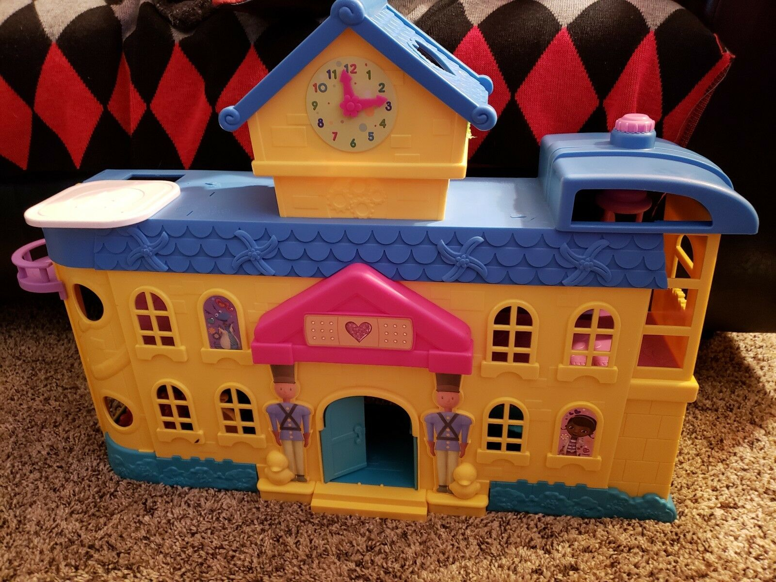 Doc Mcstuffins Hospital Playset Interactive Great Toys Tested Sectional Noises