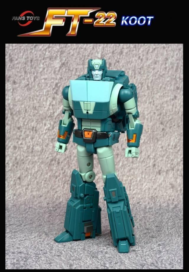 Transformers G1 Fans Toys FT-22 Koot obra maestra completos en EE. UU. ahora