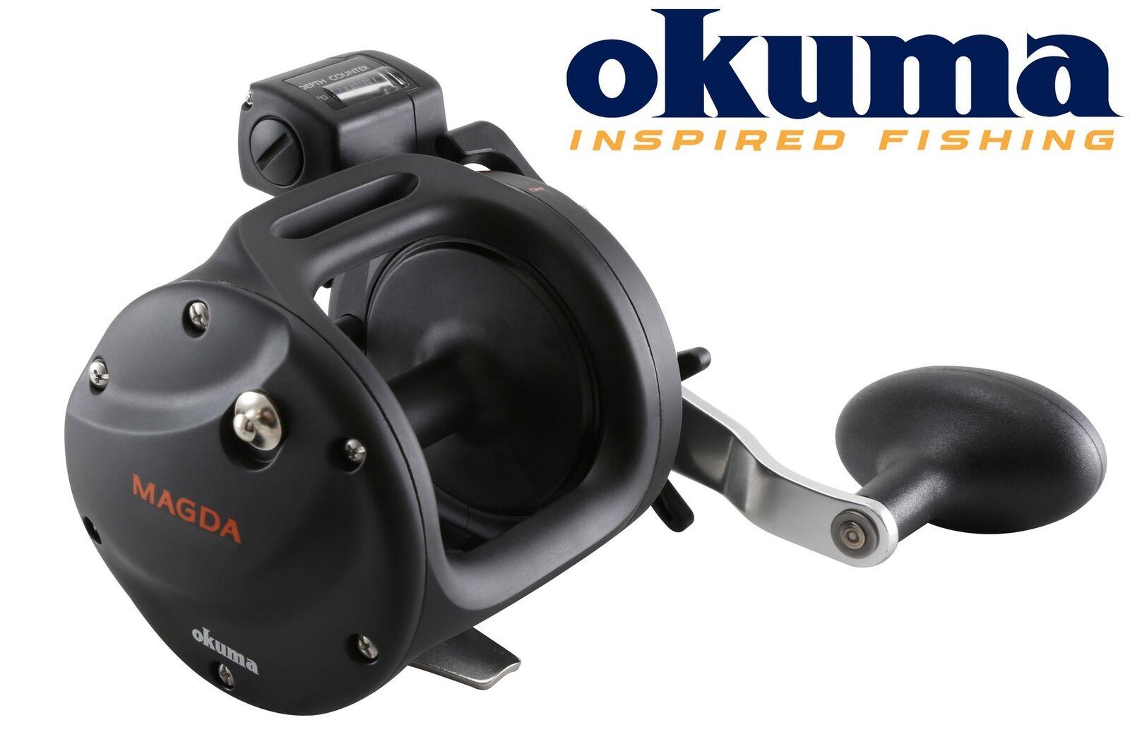 Okuma Magda Linecounter DT MA-20DT Multirolle zum mit Schnurzähler zum Multirolle Meeresangeln 27b146