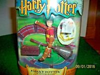 2001 Mattel Harry Potter Magical Minis Harry Potter Quidditch 3.5 Action Figure
