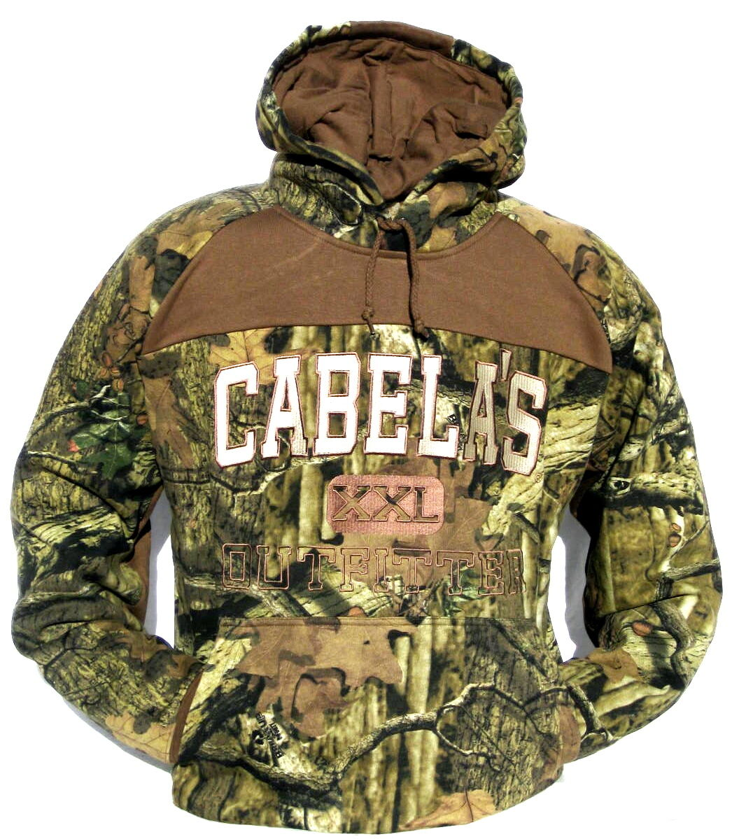 Cabela's Men's Ultra Heavyweight Mossy Oak  Break-Up INFINITY Hunting Hoodie L XL  here has the latest